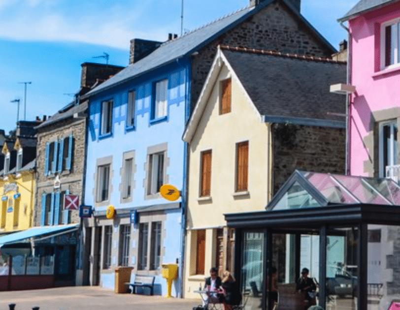 Ville de Vannes (56) et de Saint-Brieuc (22) en Bretagne